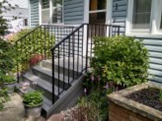 residential fencing, commercial fencing, residential railing, commercial railing, custom fencing, St. Cloud MN